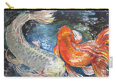 Two Koi Carry-all Pouch
