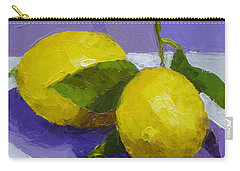 Two Lemons Carry-all Pouch