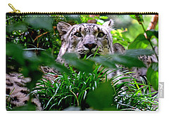 Two Leopards Carry-all Pouch by David Gilbert