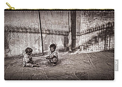 Two Little Boys Carry-all Pouch