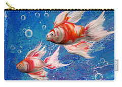 Two Little Fishies Carry-all Pouch