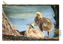 Two Little Goslings Carry-all Pouch