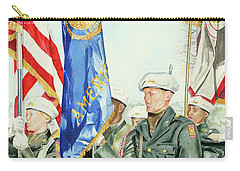 Two Months After 9-11  Veteran's Day 2001 Carry-all Pouch