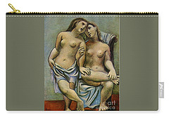 Two Nude Women Carry-all Pouch