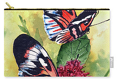 Carry-all Pouch featuring the painting Two Of A Kind by Sam Sidders