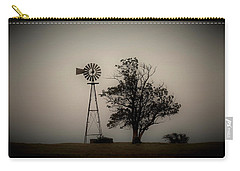 Carry-all Pouch featuring the photograph Two Old Friends by Sheila Brown