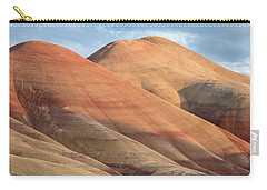 Carry-all Pouch featuring the photograph Two Painted Hills by Greg Nyquist