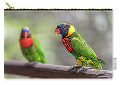 Two Parrots Carry-all Pouch