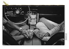 Two People In Love By Michael Grobin Carry-all Pouch