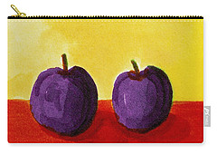 Two Plums Carry-all Pouch