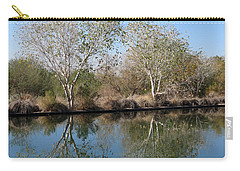 Two Reflected Carry-all Pouch by Laurel Powell