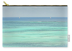 Two Sailboats In The Bahamas Carry-all Pouch
