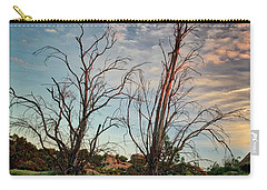 Two Sentinels Carry-all Pouch by Endre Balogh