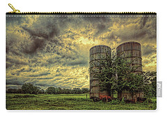 Two Silos Carry-all Pouch by Lewis Mann