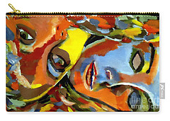 Carry-all Pouch featuring the painting Two Souls by Helena Wierzbicki
