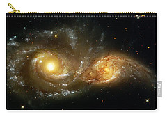 Two Spiral Galaxies Carry-all Pouch