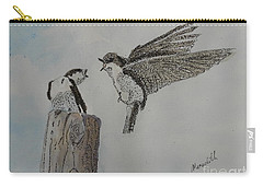 Two Swallows Carry-all Pouch