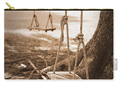 Two Swings - Sepia Carry-all Pouch