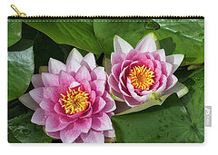 Carry-all Pouch featuring the photograph Two Together by Shirley Mitchell