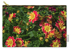 Two Tone Dahlias Carry-all Pouch