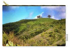 Carry-all Pouch featuring the photograph Two Trees In Spring by John A Rodriguez