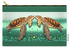 Two Turtles Carry-all Pouch