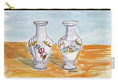 Two-view Vase Carry-all Pouch