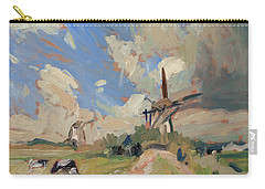 Two Windmills Carry-all Pouch