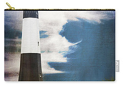 Carry-all Pouch featuring the photograph Tybee Island by Judy Wolinsky