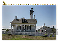 Carry-all Pouch featuring the photograph Tybee Island Lighthouse by Kim Hojnacki