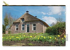 Carry-all Pouch featuring the photograph Typical Dutch House by Hans Engbers