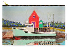 Typical Fishing Vessel Nova Scotia  Carry-all Pouch