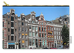Typical Houses In Amsterdam Carry-all Pouch