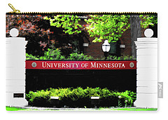 U Of M  Carry-all Pouch