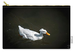 Carry-all Pouch featuring the photograph U Qwak Me Up by Daniel Hebard