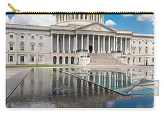 U S Capitol East Front Carry-all Pouch by Steve Gadomski