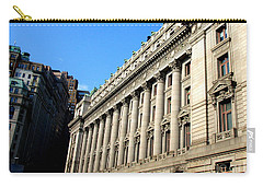 U S Custom House 1 Carry-all Pouch by Randall Weidner