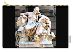 U S Custom House 3 Carry-all Pouch by Randall Weidner