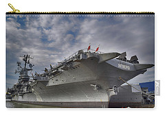 U S S  Intrepid     Carry-all Pouch by Dyle Warren
