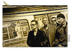 U2 Collection Carry-all Pouch by Marvin Blaine