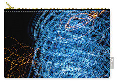 Ufa Neon Abstract Light Painting Sodium #7 Carry-all Pouch