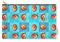 Loadsa Ugly Bug Squares Carry-all Pouch by Andy Catling
