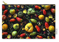 Heirloom Tomato Patterns Carry-all Pouch