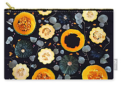 Squash Patterns Carry-all Pouch