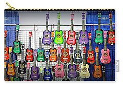 Carry-all Pouch featuring the photograph Ukuleles At The Fair by Lori Seaman