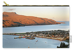 Carry-all Pouch featuring the photograph Ullapool Morning Light by Grant Glendinning