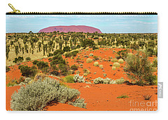 Carry-all Pouch featuring the photograph Uluru 01 by Werner Padarin