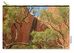 Carry-all Pouch featuring the photograph Uluru 02 by Werner Padarin