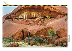 Carry-all Pouch featuring the photograph Uluru 06 by Werner Padarin
