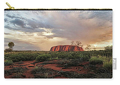 Uluru In The Distance Carry-all Pouch